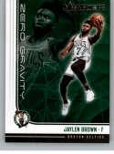 2017-18 Panini Hoops Zero Gravity #2 Jaylen Brown Boston Celtics