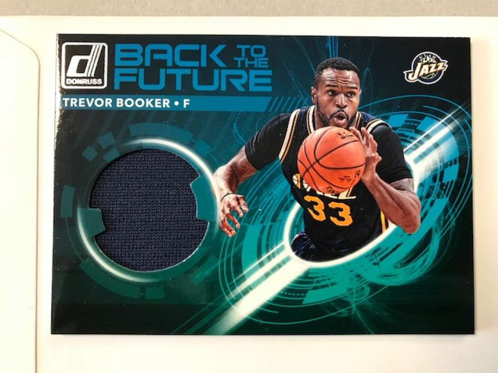 2017-18 Donruss  Back to the Future Materials