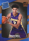 Basketball NBA 2017-18 Donruss #199 Lonzo Ball Rated Rookie  RC Lakers