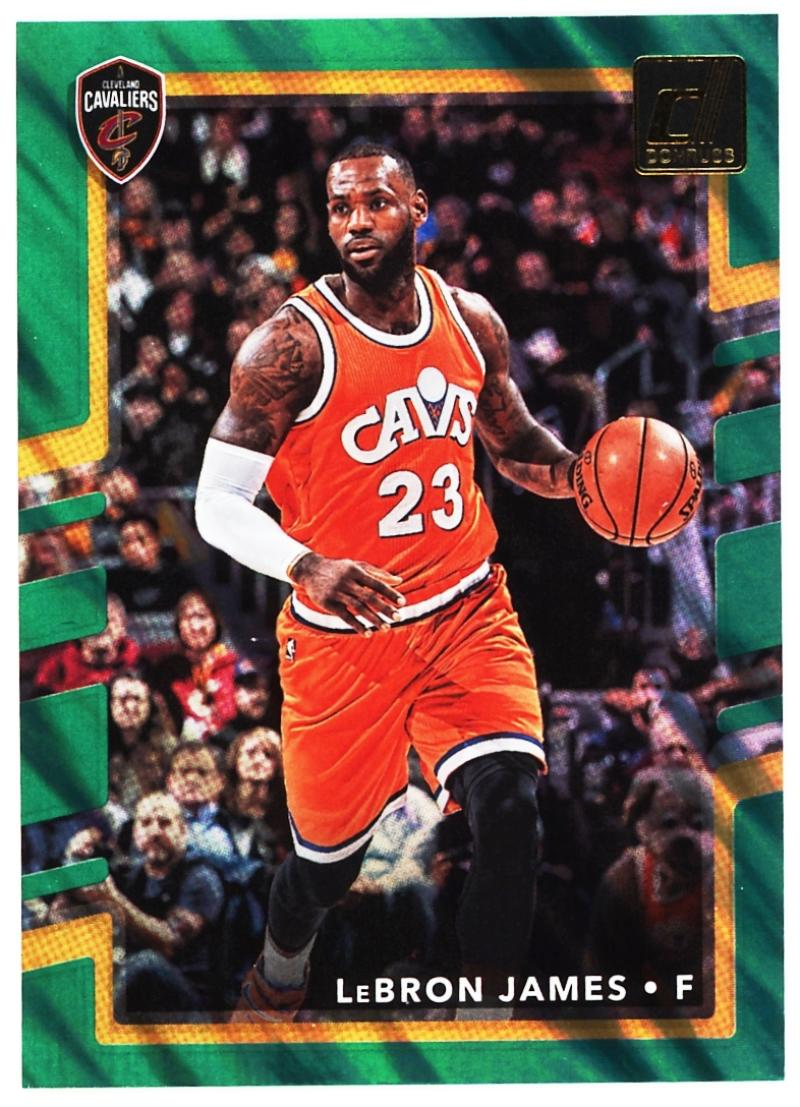 2017-18 Donruss  Green Flood