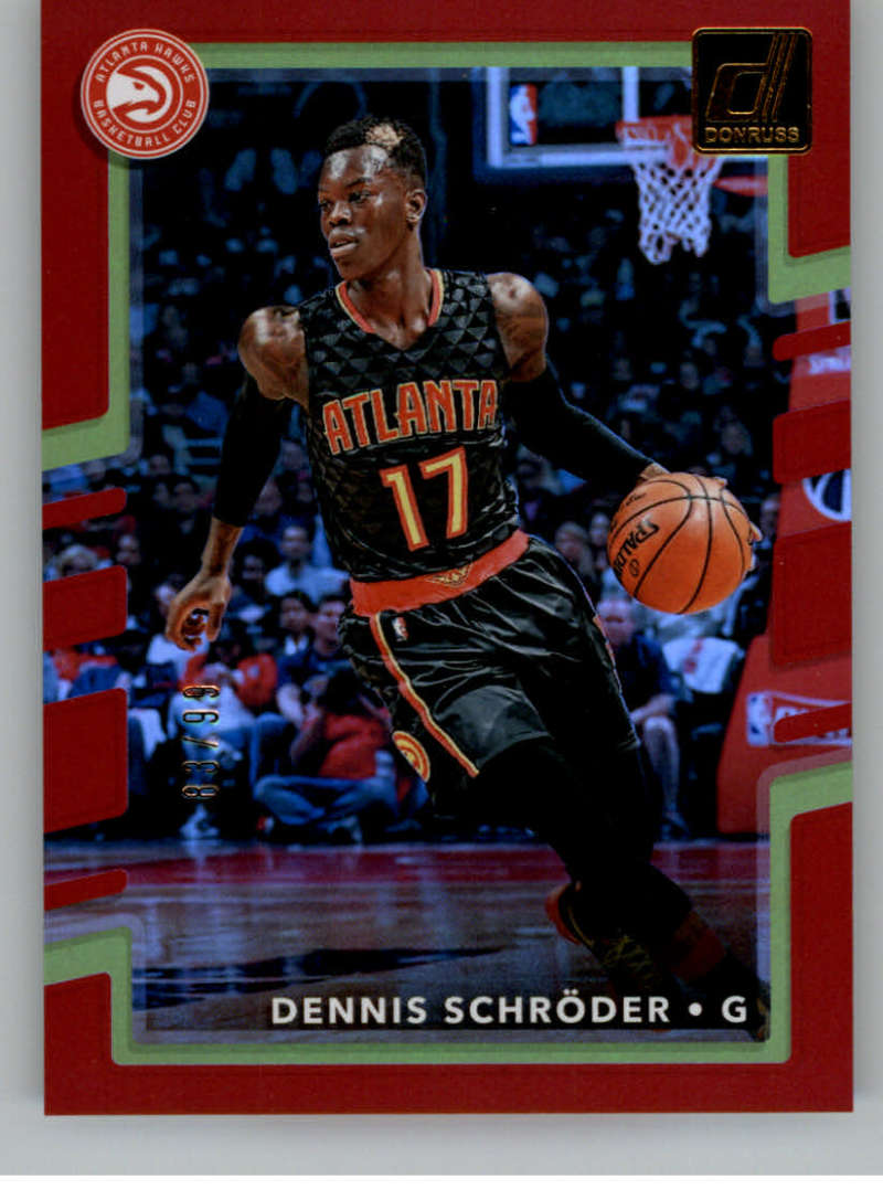 2017-18 Donruss  Holo Red Laser