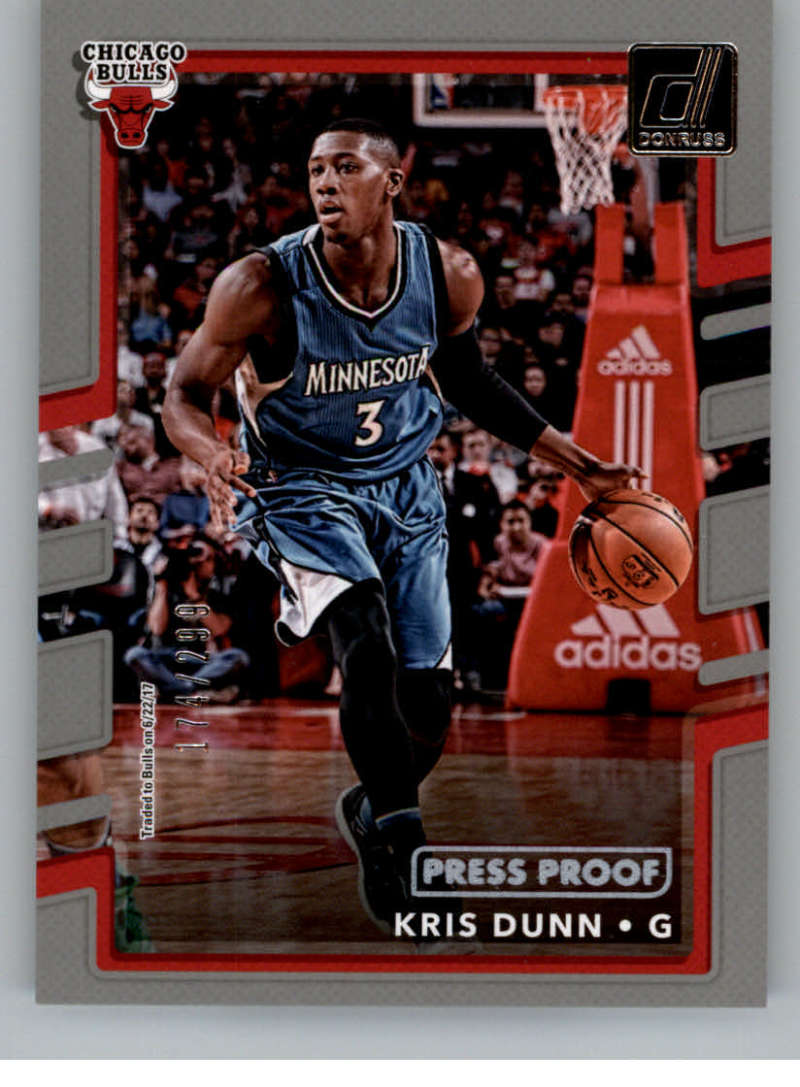 2017-18 Donruss  Press Proof Silver