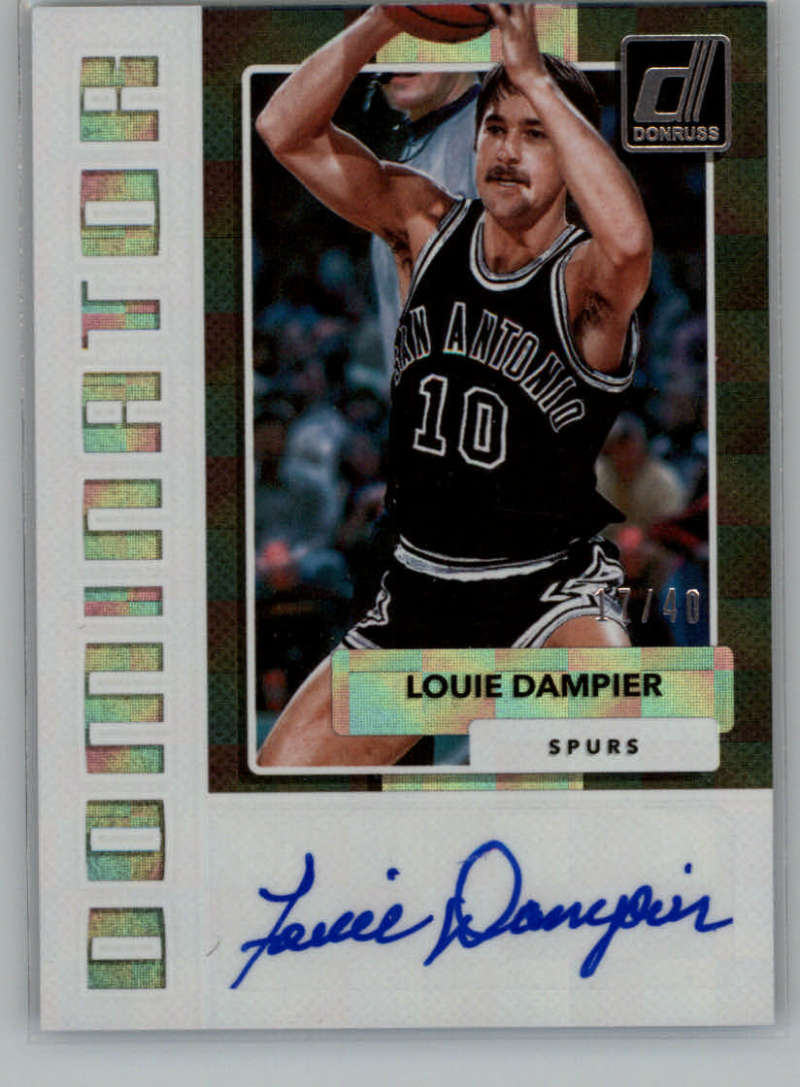 2017-18 Donruss  Dominators Signatures