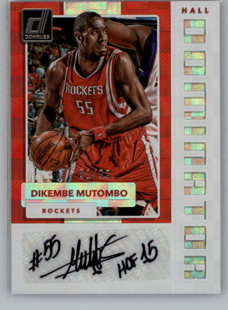2017-18 Donruss  Hall Dominators Signatures