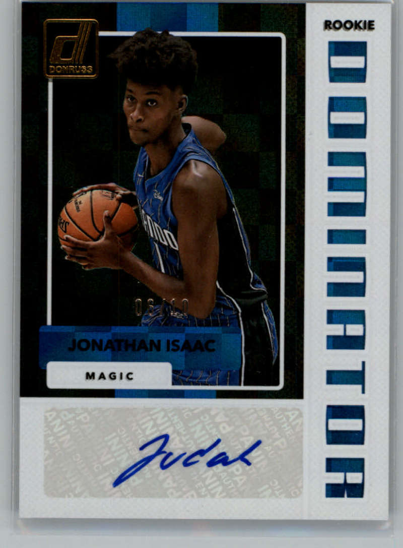 2017-18 Donruss  Rookie Dominators Signatures Gold