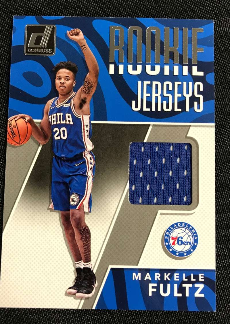 2017-18 Donruss  Rookie Jerseys
