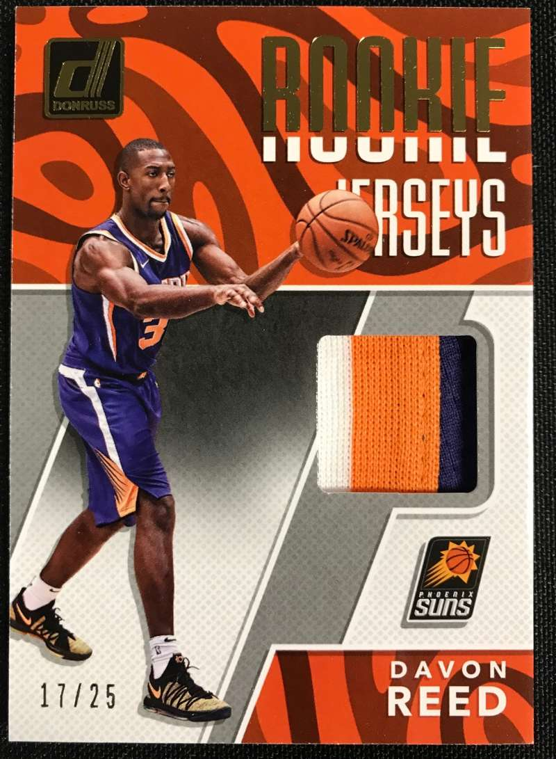 2017-18 Donruss  Rookie Jerseys Prime