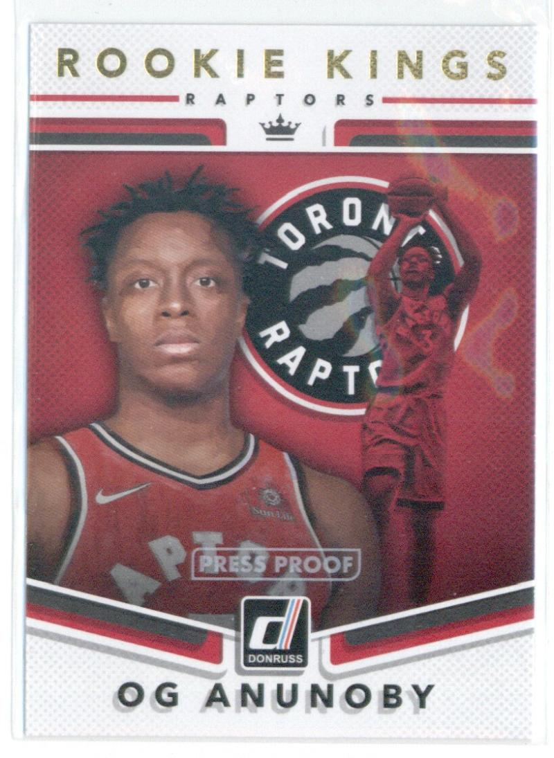 2017-18 Donruss  Rookie Kings Press Proof