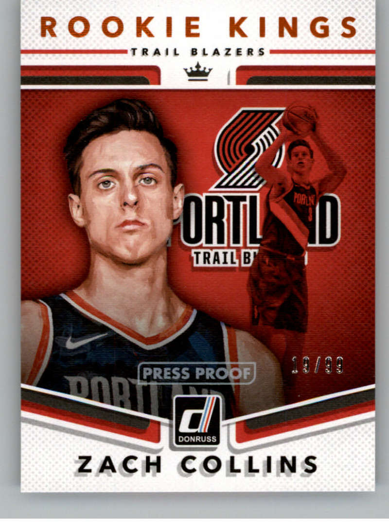 2017-18 Donruss  Rookie Kings Press Proof Orange