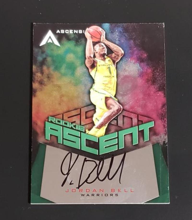 2017-18 Panini Ascension Rookie Ascent Green