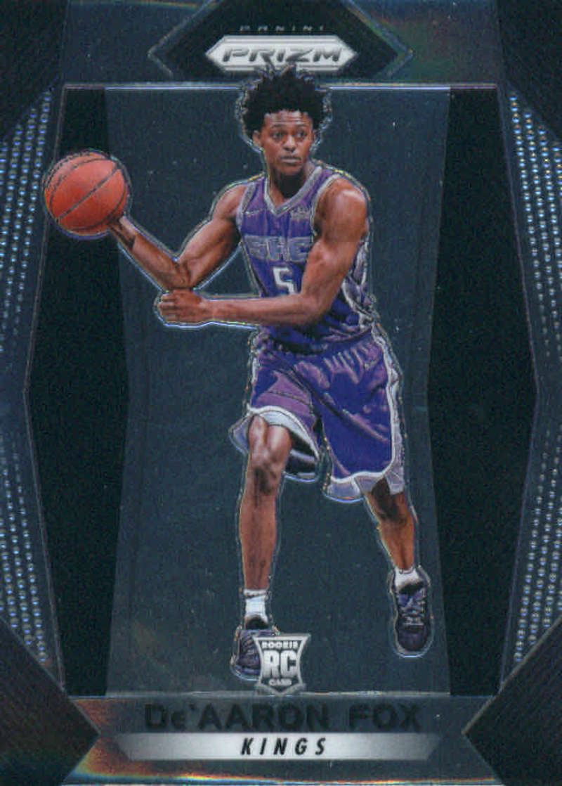 2017-18 Panini Prizm #24 De'Aaron Fox NM-MT+