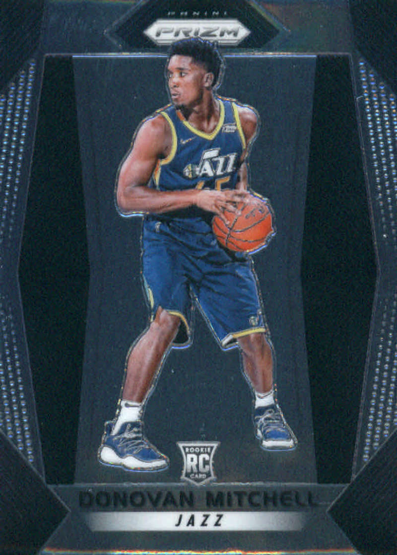 2017-18 Panini Prizm #117 Donovan Mitchell RC - Utah Jazz NM-MT NBA (Rookie Card)