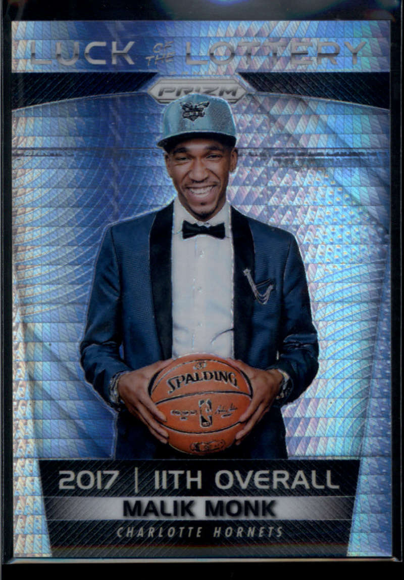 2017-18 Panini Prizm Luck of the Lottery Prizms Hyper