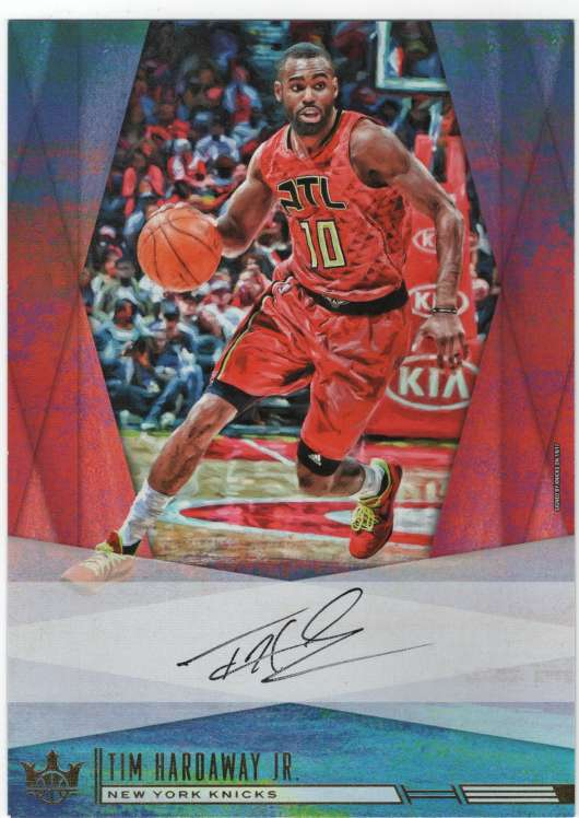 2017-18 Panini Court Kings Box Topper Autographs