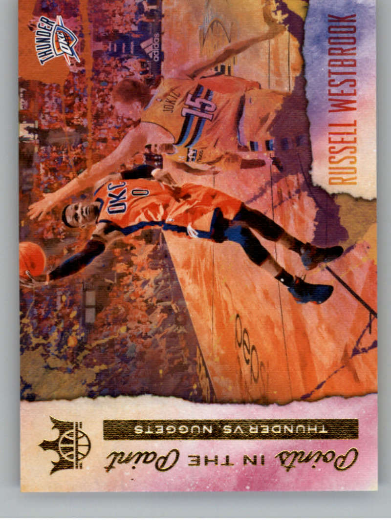 2017-18 Panini Court Kings Points in the Paint