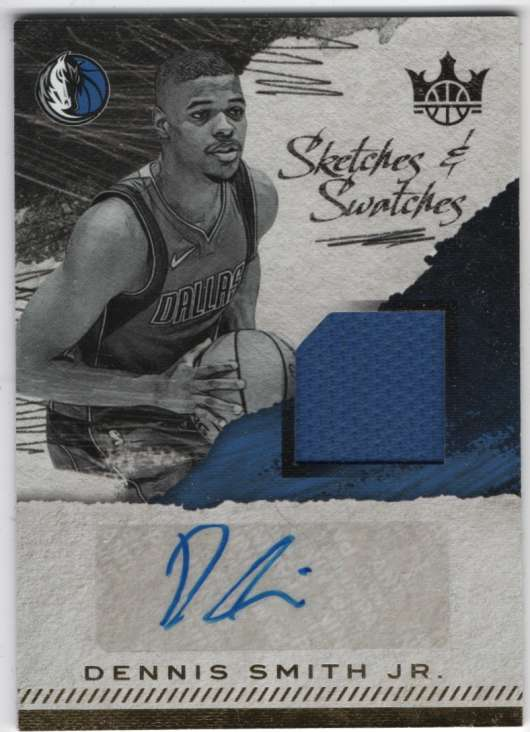 2017-18 Panini Court Kings Sketches and Swatches