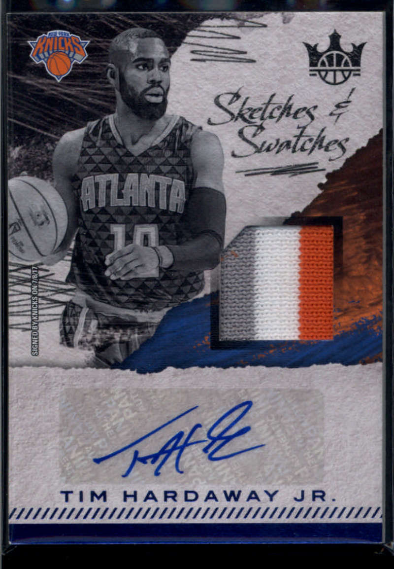 2017-18 Panini Court Kings Sketches and Swatches Prime