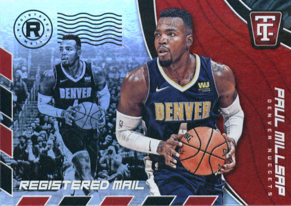 2017-18 Panini Totally Certified Registered Mail