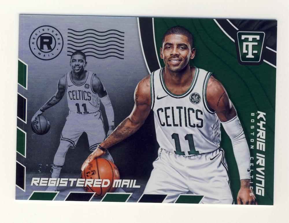 2017-18 Panini Totally Certified Registered Mail Green