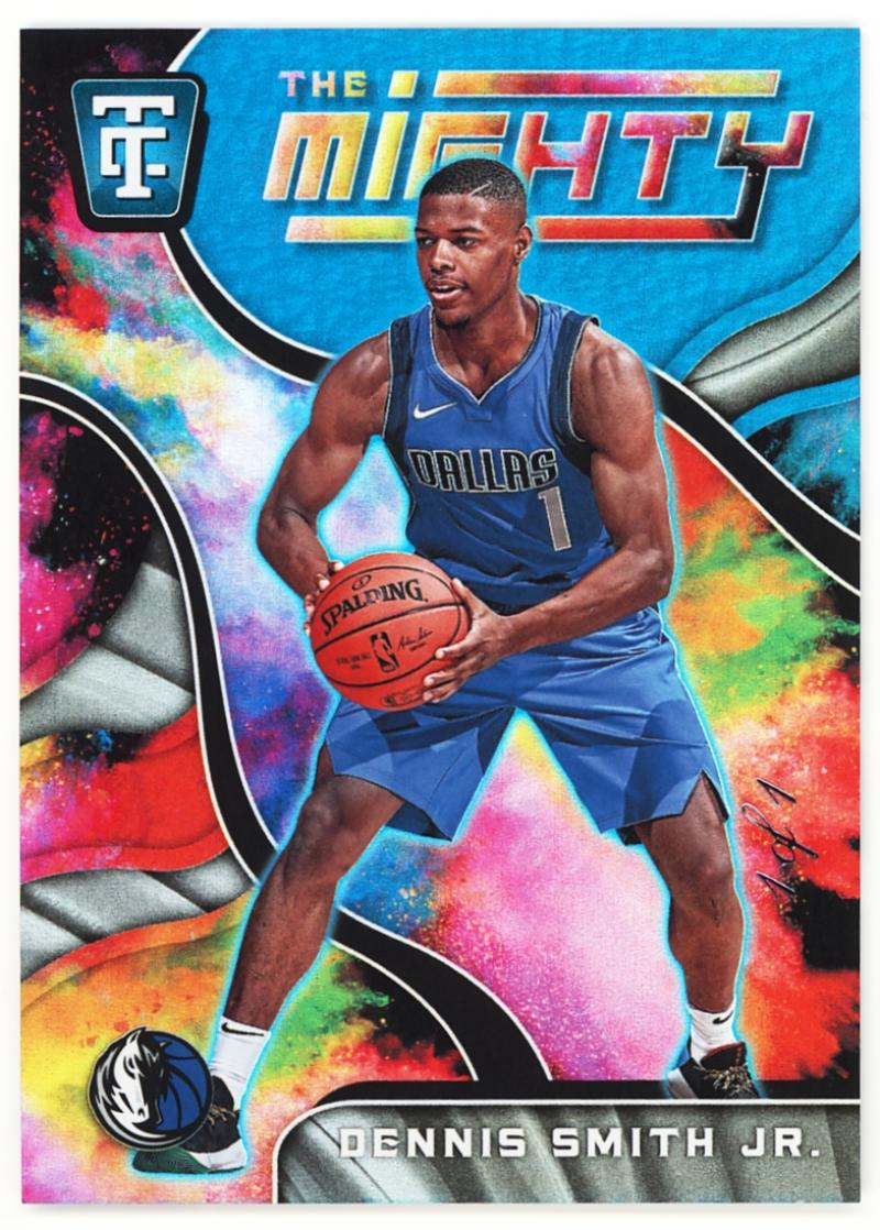 2017-18 Panini Totally Certified The Mighty Holo Blue