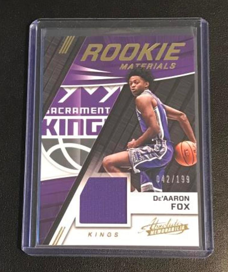 2017-18 Panini Absolute Rookie Materials