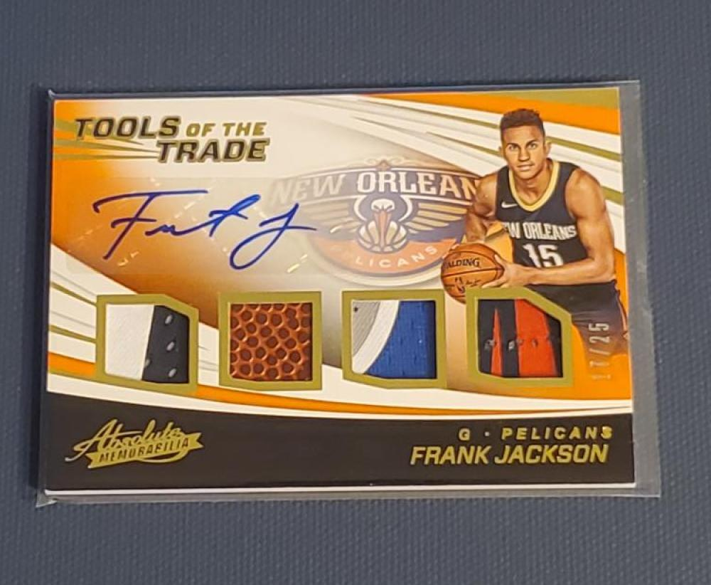 2017-18 Panini Absolute Tools of the Trade - Four Swatch Signatures Level 2