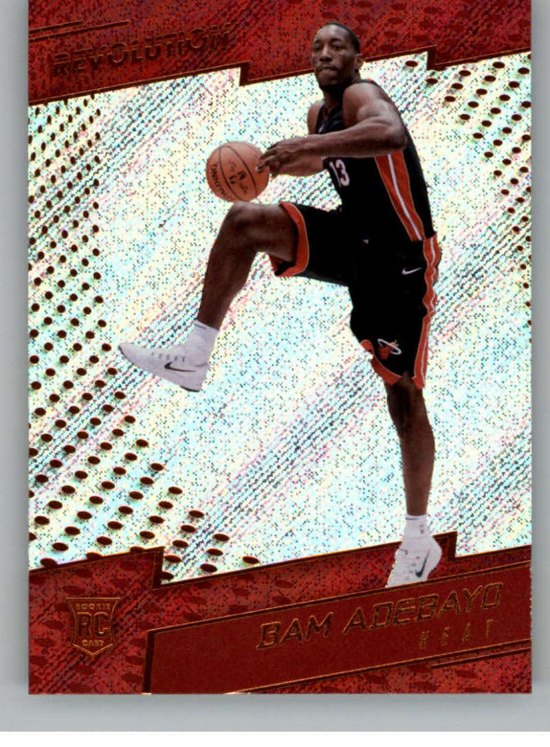2017-18 Panini Revolution #135 Bam Adebayo RC Rookie Miami Heat Rookie