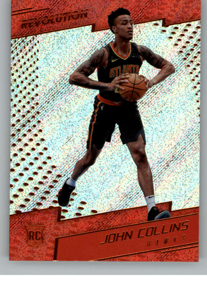 2017-18 Panini Revolution #137 John Collins RC Rookie Atlanta Hawks Rookie