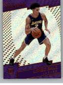 2017-18 Panini Revolution #111 Lonzo Ball RC Rookie Los Angeles Lakers Rookie
