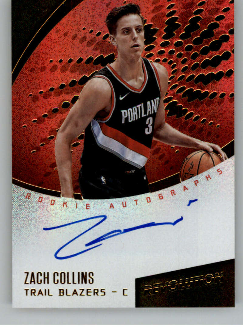 2017-18 Panini Revolution Rookie Autographs