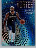 2017-18 Panini Revolution Vortex #15 DeMarcus Cousins New Orleans Pelicans