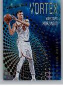 2017-18 Panini Revolution Vortex #35 Kristaps Porzingis New York Knicks