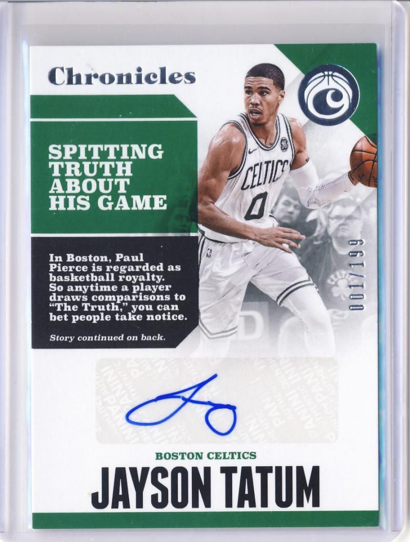 2017-18 Panini Chronicles Autographs