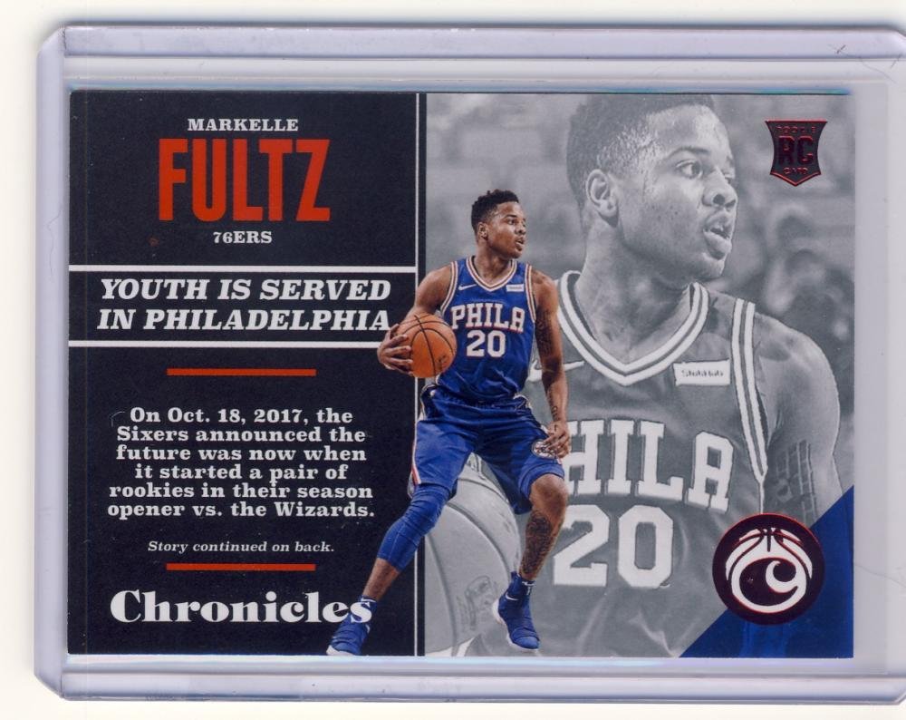 2017-18 Panini Chronicles Red
