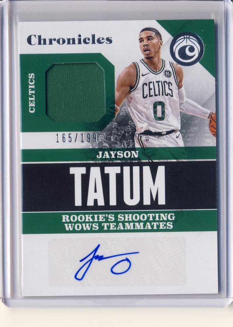 2017-18 Panini Chronicles Signature Swatches