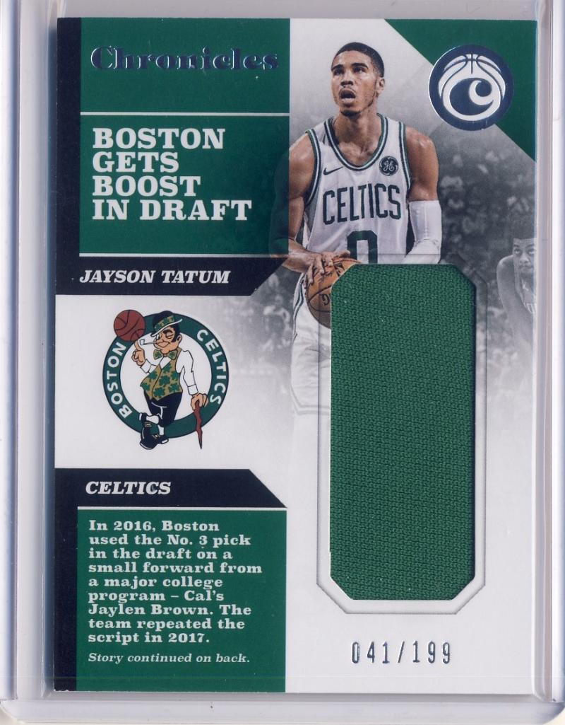 2017-18 Panini Chronicles Swatches