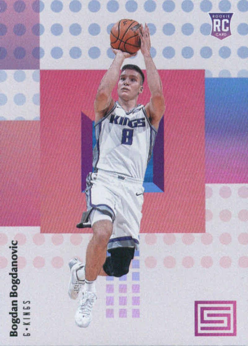 2017-18 Panini Status #115 Bogdan Bogdanovic Sacramento Kings Rookie