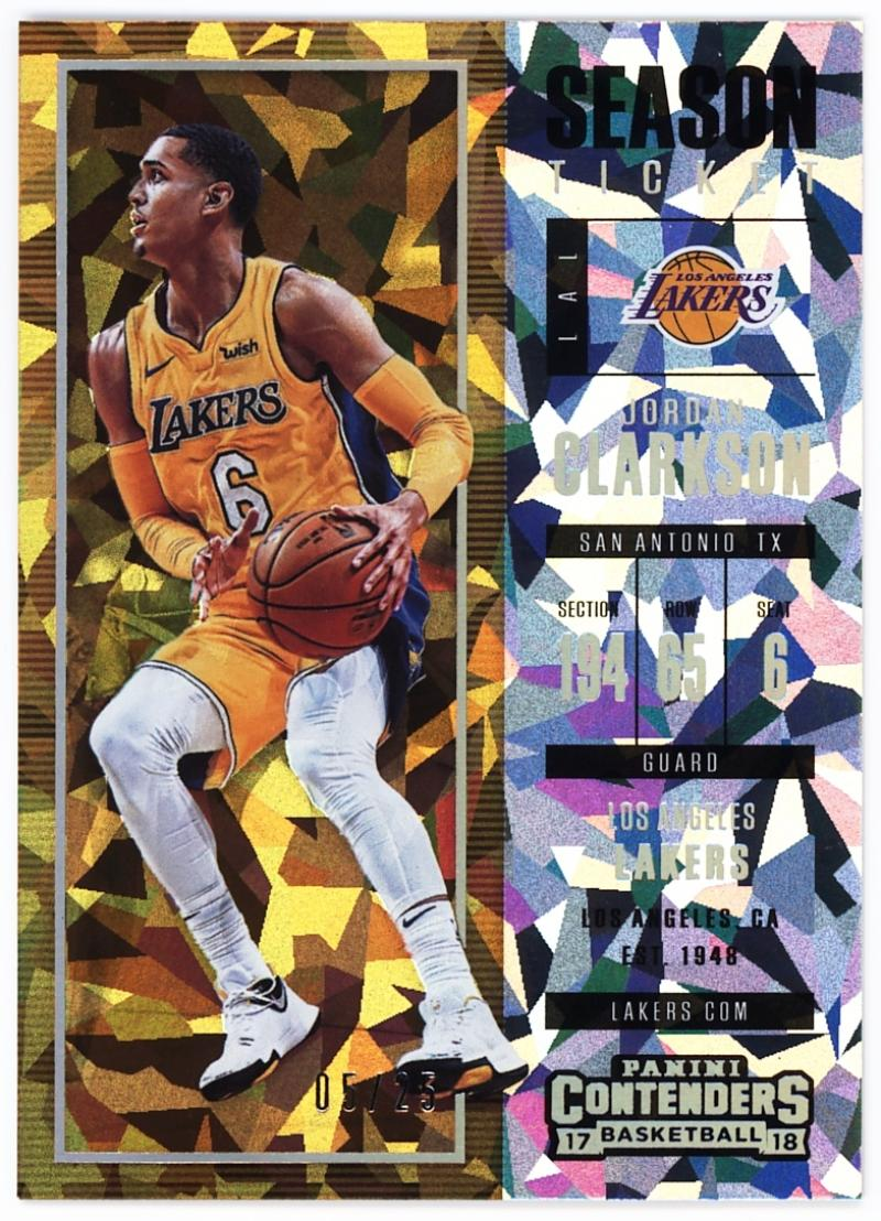 2017-18 Panini Contenders Cracked Ice Ticket