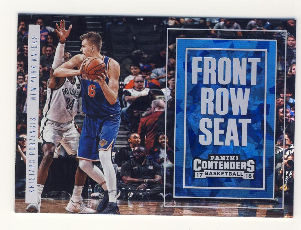 2017-18 Panini Contenders Front Row Seat Cracked Ice