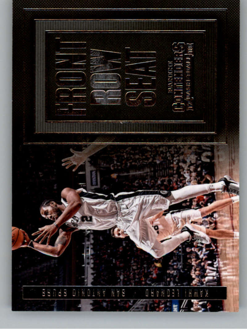 2017-18 Panini Contenders Front Row Seats Retail