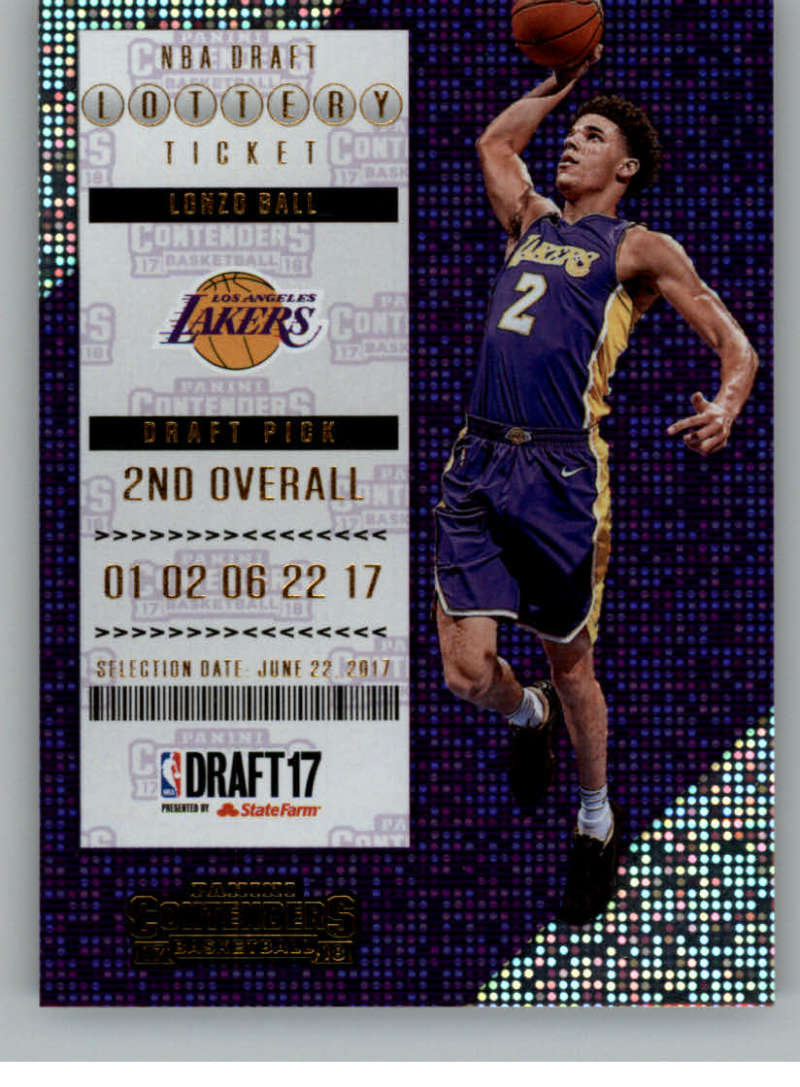 2017-18 Panini Contenders Lottery Ticket