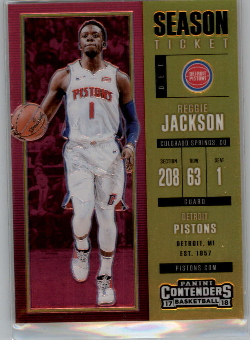 2017-18 Panini Contenders Season Ticket Premium Edition Gold