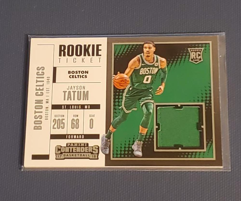 2017-18 Panini Contenders Rookie Ticket Swatches