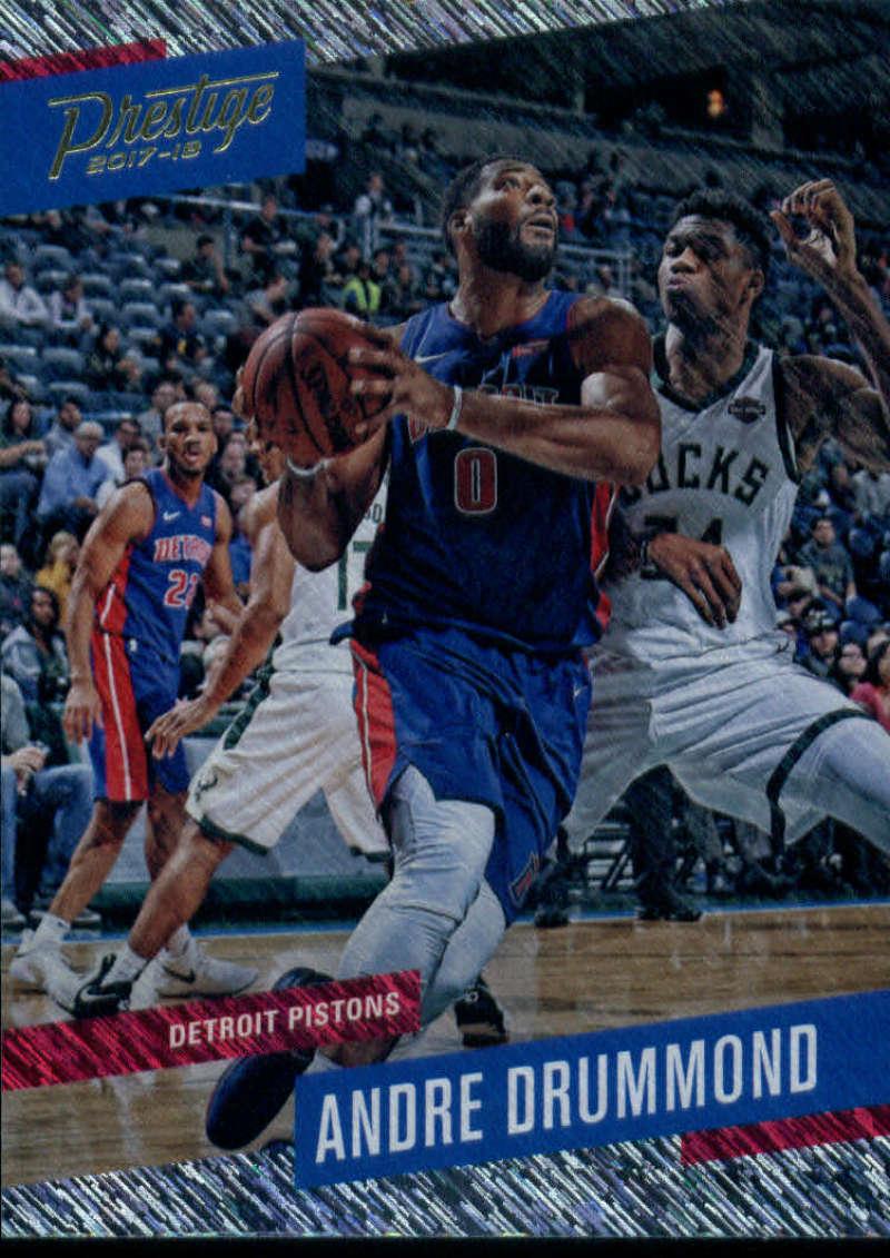 2017-18 Panini Prestige Rain #101 Andre Drummond Detroit Pistons
