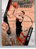 2017-18 Panini Prestige Hardcourt Heroes #4 Lauri Markkanen Chicago Bulls