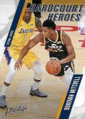 2017-18 Panini Prestige Hardcourt Heroes #11 Donovan Mitchell Utah Jazz