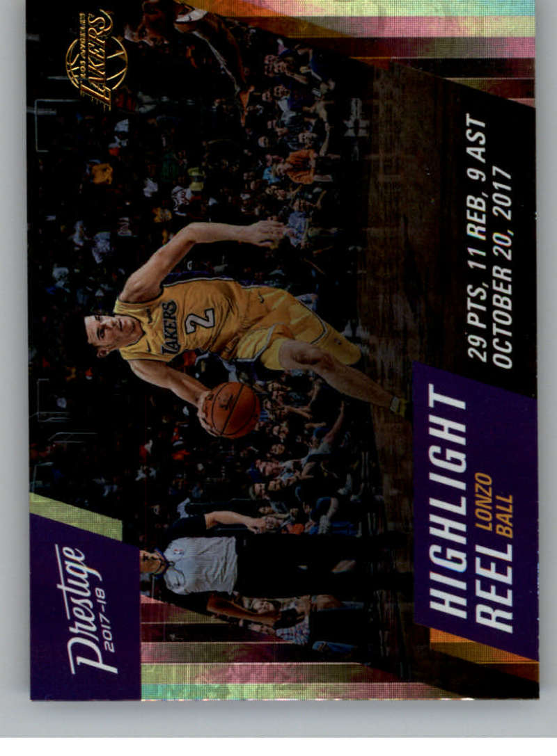 2017-18 Panini Prestige Highlight Reel Horizon