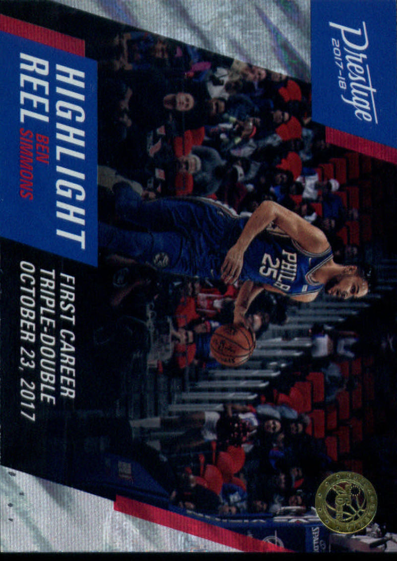 2017-18 Panini Prestige Highlight Reel Mist