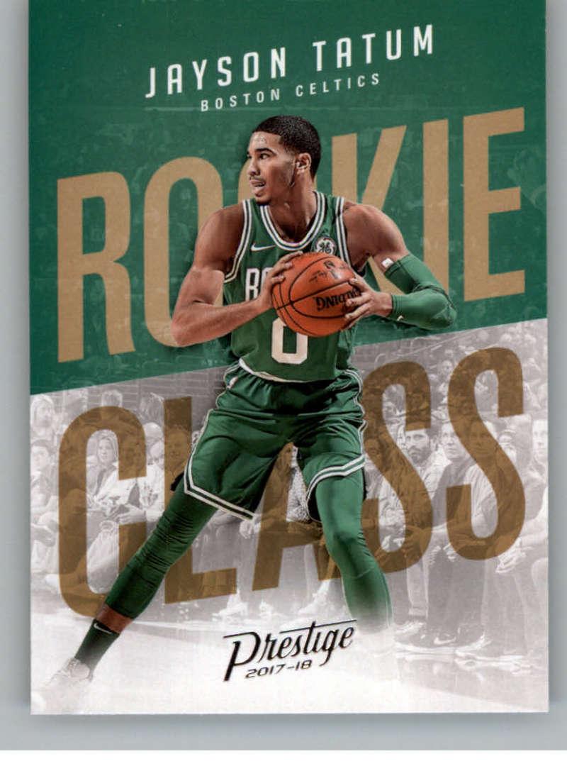 2017-18 Panini Prestige Rookie Class #3 Jayson Tatum Boston Celtics