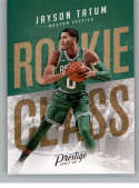 2017-18 Panini Prestige Rookie Class #3 Jayson Tatum Boston Celtics